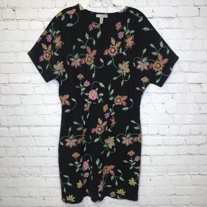 ASOS Floral Embroidered Dress 8